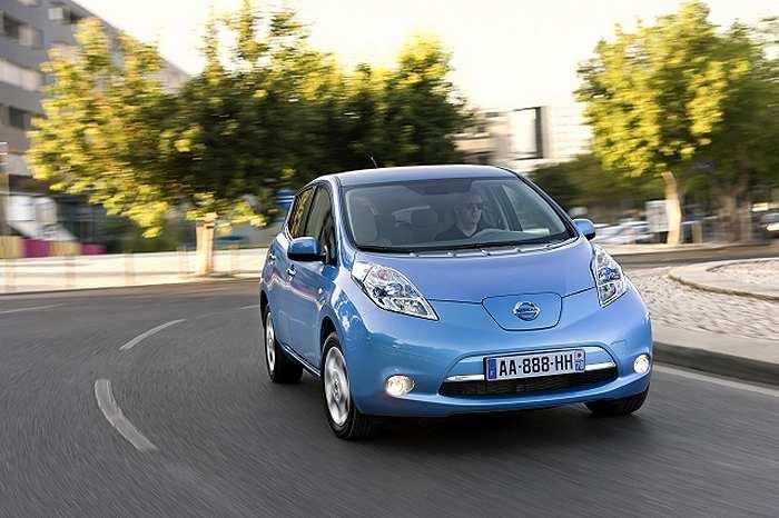 Nissan Leaf Electric Vehicle Geek News Central