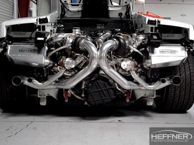 Lamborghini Gallardo Lp560 Twin Turbo By Heffner Car News