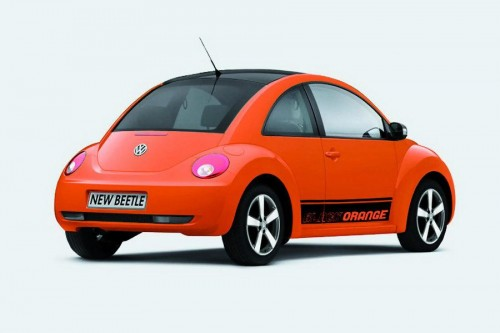 VW Beetle Black-Orange Edition