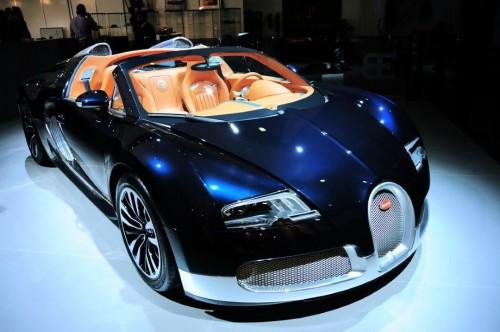 Bugatti Veyron Grand Sport Soleil de Nuit