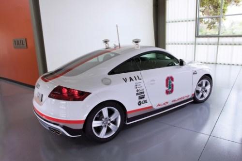 Pikes Peak Autonomous Audi TTS
