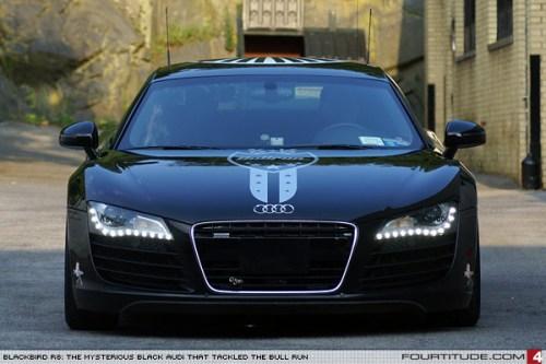 Audi R8 Blackbird