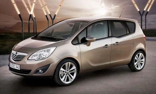 Opel Meriva in 3D