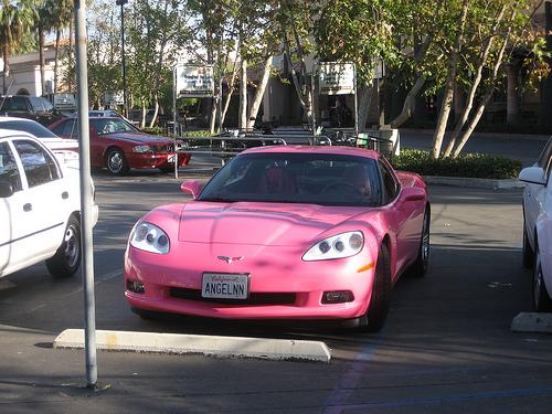 Pink Corvette II