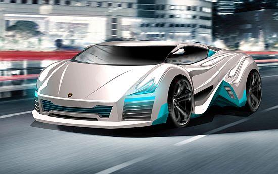 The Lamborghini Rompighiaccio Electric Concept Car News