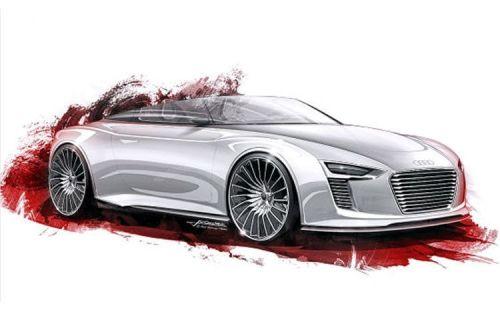 New Concept Audi E-Tron Spyder