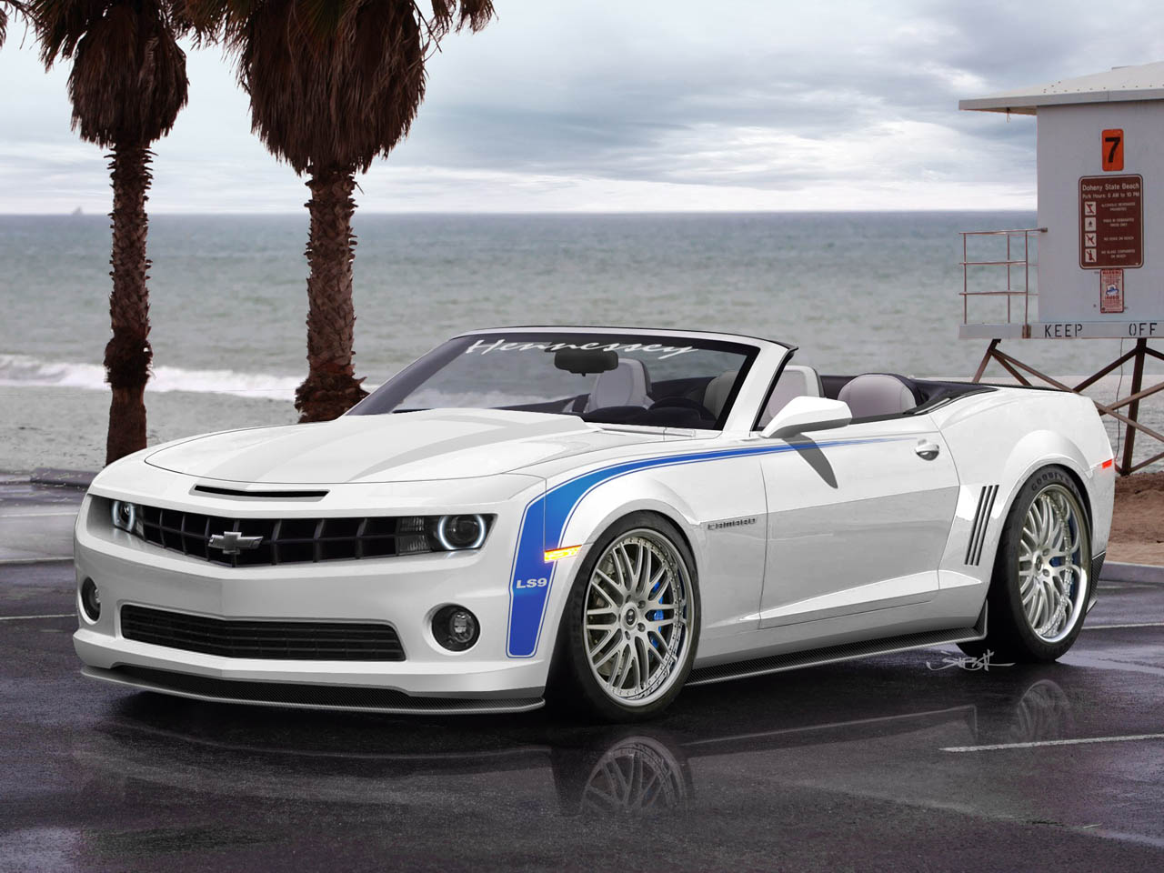 2011 HPE700 Camaro Convertible from Hennessey