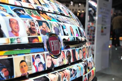 Fiat 500 Paris Auto Show 2010