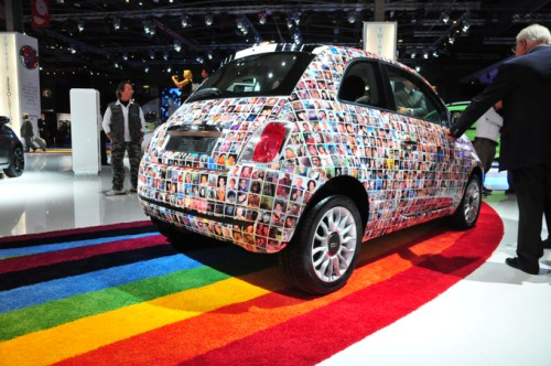2010 Paris Auto Show Fiat 500