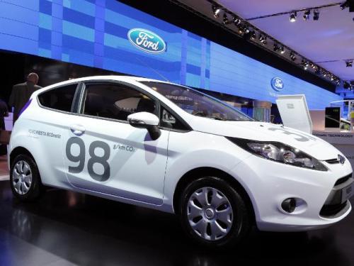 Ford France Paris Auto Show