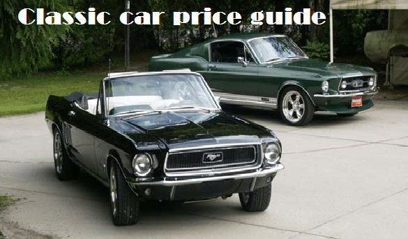 Classic Car Price Guide >> Classic Car Price Guide Your Lead To A Perfect Choice Car