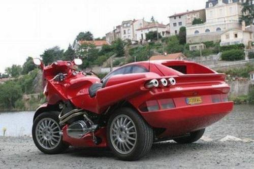 Ferrari Car-Motorcycle