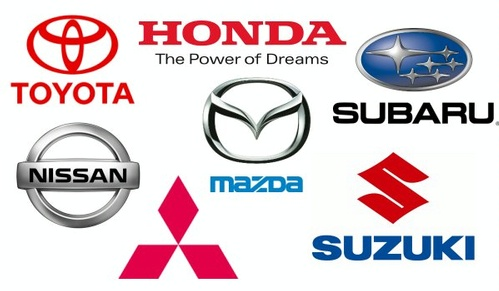 Japanese auto logos