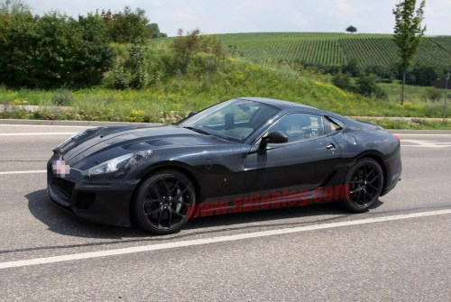 Amazing spy photos with the next 599 GTB Fiorano from Ferrari