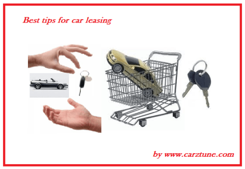 Best tips for car leasing