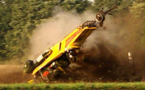 Richard Hammond 2006 Car Accident