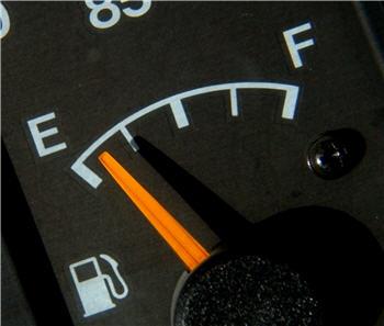 less fuel