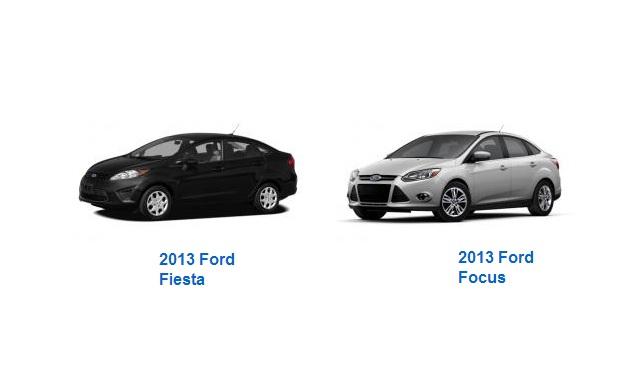 Fiesta vs Focus