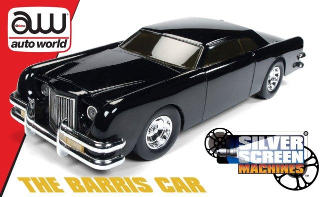 AUTO WORLD, 1:18 DIE-CAST, SILVER SCREEN MACHINES, GEORGE BARRIS KUSTOM, PEARL BLACK