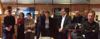 Inauguration Ouate Corse chez Casa Bio avec les élus de la CTC