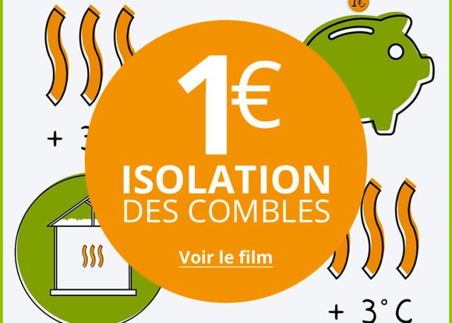 Isolation des combles a 1 euro (€)