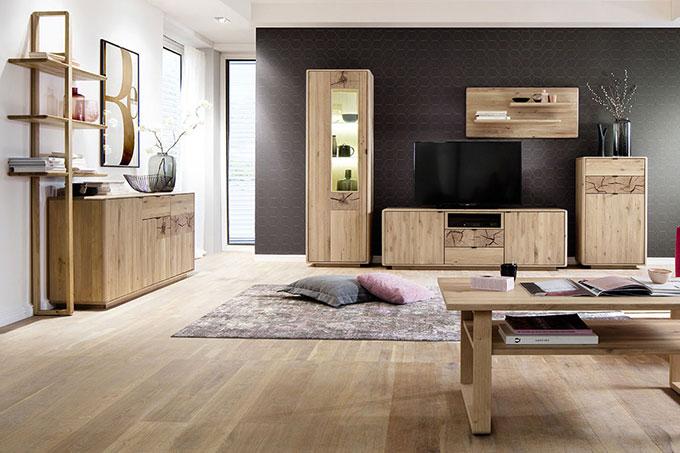 Wohnzimmer  Mbel  Wohnideen aus Massivholz  Casa Dormagen