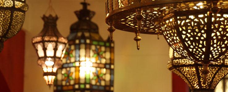 Beleuchtung  bei Ihrem Orient Shop CasaMoro