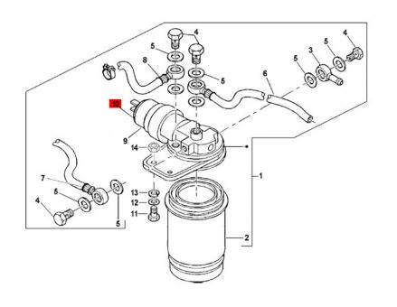 Magnetventil Ape Classic Diesel/ Calessino Diesel/ TM 703