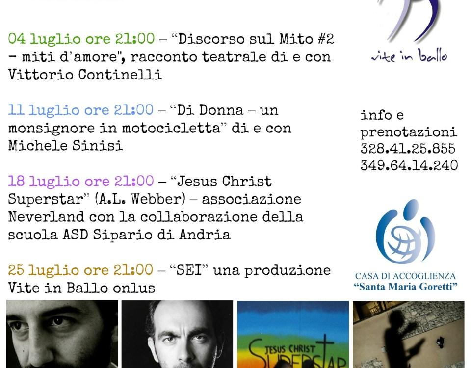 #teatroaccoglienza - seconda edizione