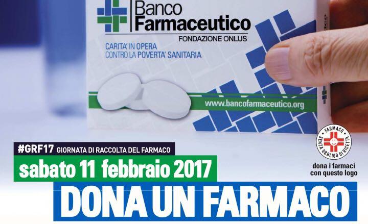 11/02/17 Giornata Nazionale del Banco Farmaceutico