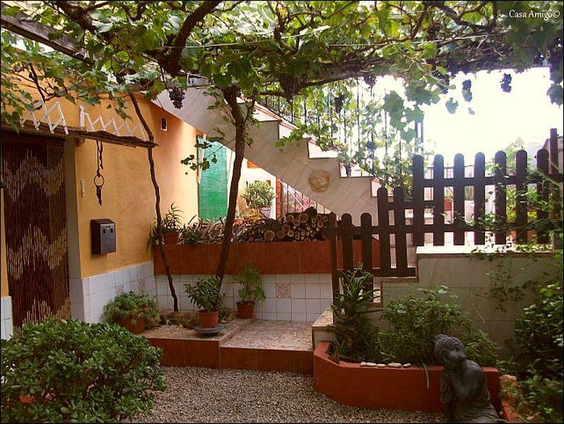 De entree van Casa Amigo