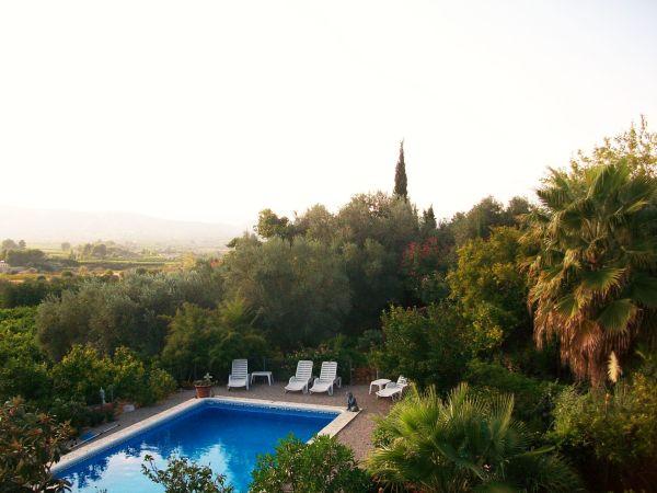 Het uitzicht bij Casa Amigo