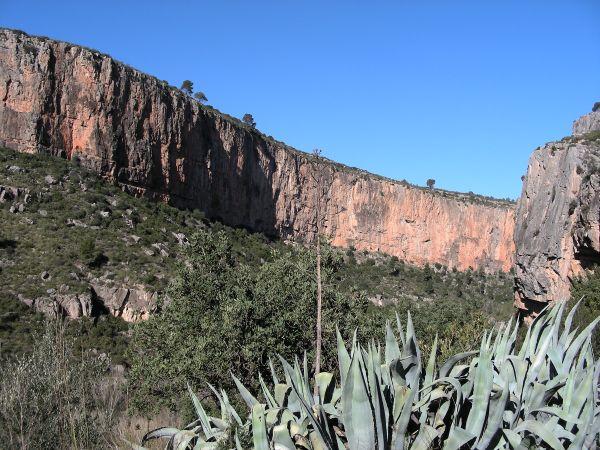 Chulilla bergen