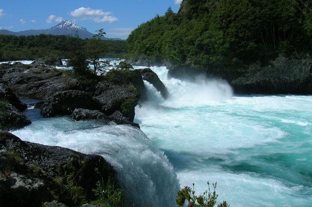 Petrohue Waterfalls  Casa Azul Hostel Puerto Varas  Chile