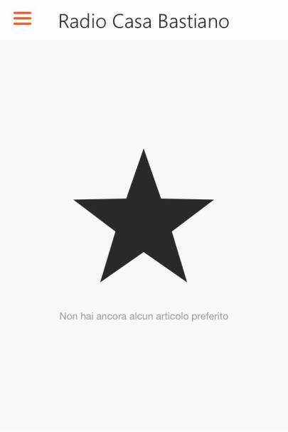 App RCB Android Preferiti