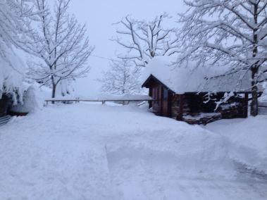 Casa Bastiano nevicata 6 febbraio 2015