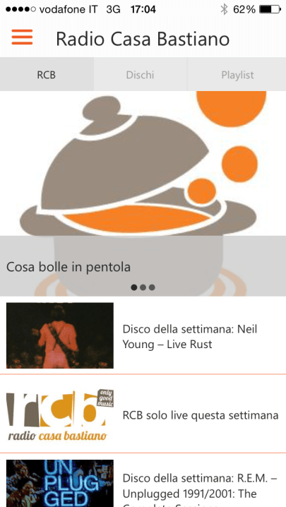 App RCB iOS LEGGI