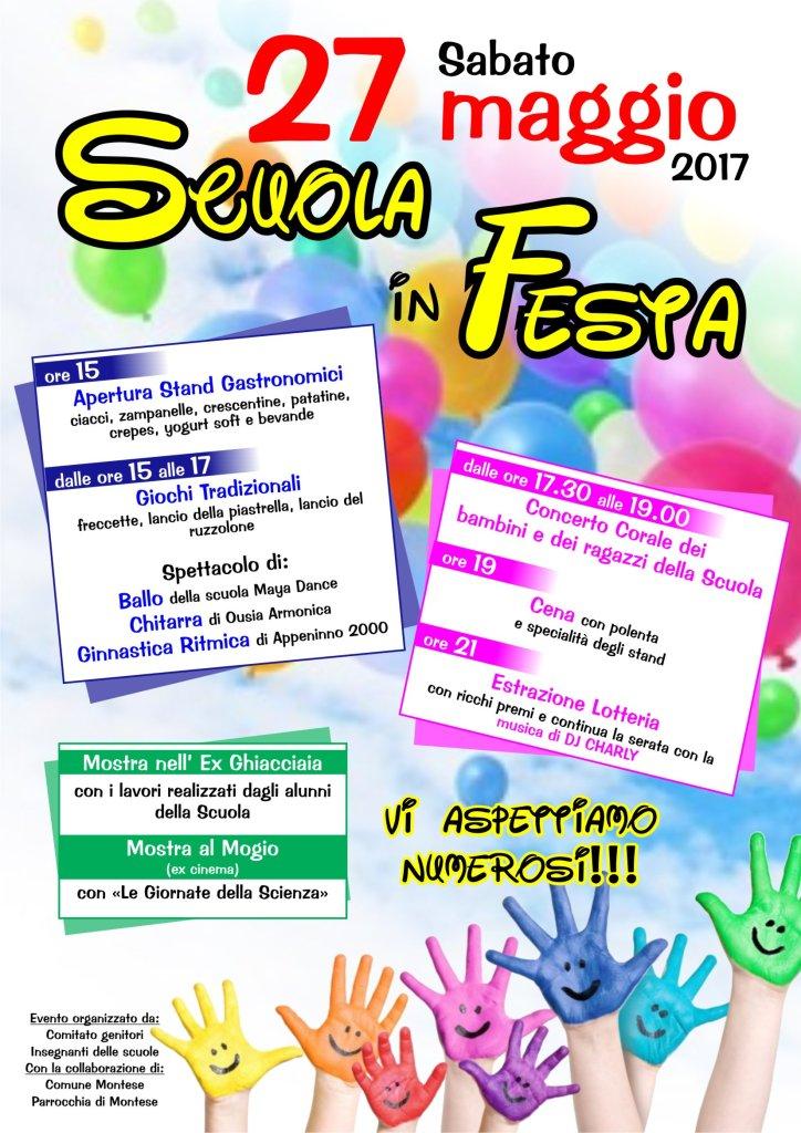 Montese Scuola in festa 2017