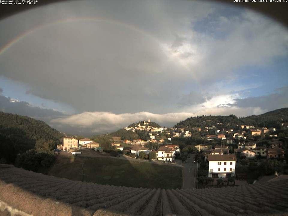 Arcobaleno a Montese 2
