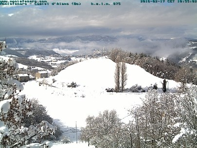 Webcam Montefenaro Castel d'Aiano 17/2/16