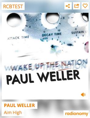 RCB test - Paul Weller