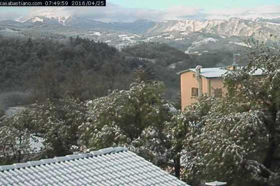 Webcam Montese Casa Bastiano 25 aprile 2016
