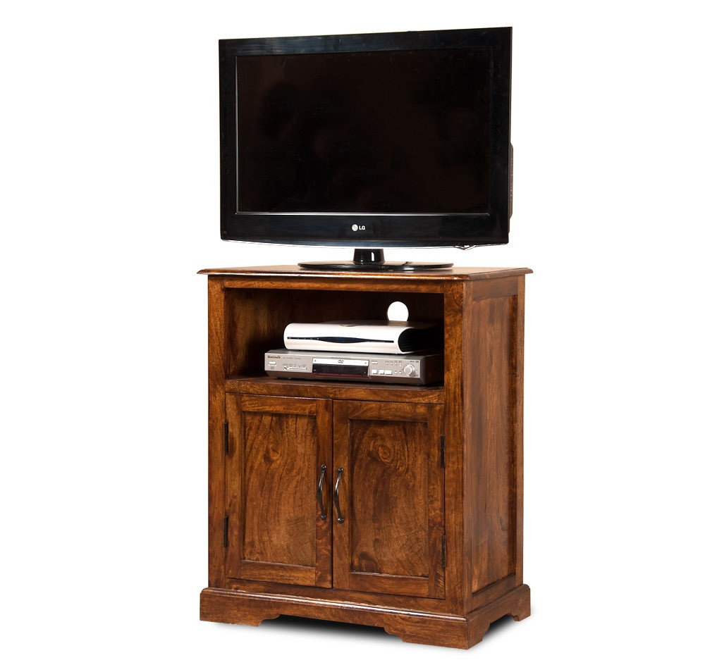 "Solid Mango Wood 32"" TV Stand"