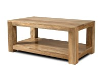 Solid Wood Open Coffee Table | Mango Wood Table | Casa ...