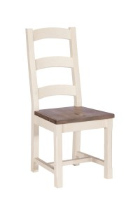 Montpellier Painted Wooden Seat Dining Chair | Casa Bella ...