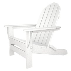 Polywood Classic Adirondack Chair Ashley Furniture Kitchen Chairs Klappbar Weiss Casa Bruno Ceiling Fans Oversized Folding Hdpe Plastic Lumber White Show Piece