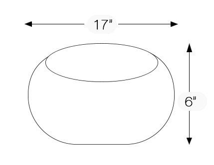 Mexican Talavera Round Vessel Sink Donut