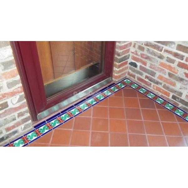 mexican talavera border tile