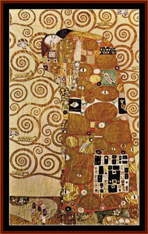 Klimt  Fulfillment da Cross Stitch Collectibles  Schemi Punto Croce  Schemi Punto Croce