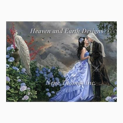 Lovers From Heaven and Earth Designs  Cross Stitch Charts  Cross Stitch Charts  Casa Cenina